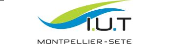 Département chimie Sète IUT Montpellier-Sète Logo